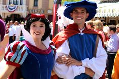 Snow and her Prince from Snow White & the Seven Dwarfs