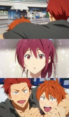 Me: immediately call rin Momotarou Mikoshiba, Makoharu, Swimming Anime, Free Eternal Summer, Splash Free, Naruto E Boruto, Free Iwatobi Swim Club, Free Anime, Fanart