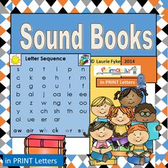 Phonics | Sound Books | Print Letters | Grades k-1  My first reader! These sound booklets are a great way to experience concepts of print: turning pages, moving left to right across the page, or top to bottom, checking the front and back of the booklet and learning that words consist of letters that represent sounds! Children love to read and re-read them!  *in 1/8 page or 1/4 format.  The front cover shows the group of sounds and pictures to help trigger the memory. There are six sounds per…