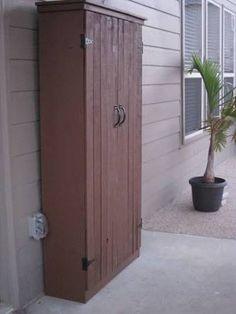 outdoor storagecupbards - Google Search
