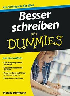 Monika Hoffmann, Besser schreiben für Dummies  
