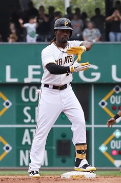 Pirates All-Star centerfielder Andrew McCutchen