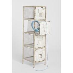 Caged Locker Cabinet