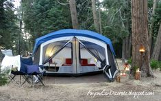 A GLAMPING We Will Go... GLAMPING = Glamorous Camping