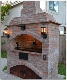 Attributes In Bbq Grilles Purchasing – Outdoor Kitchen Designs Outdoor Kitchen Patio, Pizza Oven Outdoor, Outdoor Kitchen Design, Outdoor Cooking, Backyard Patio, Outdoor Fireplace Designs, Backyard Fireplace, Lomba Grande, Parrilla Exterior