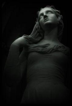 ☫ Angelic ☫ winged cemetery angels and zen statuary - 1855 Joseph-Hugues Fabisch Black Queen, Ghost In The Machine, Effigy, Dark Beauty, Gothic Beauty, Joseph, Stone Art, Dark Art, Sculpture Art