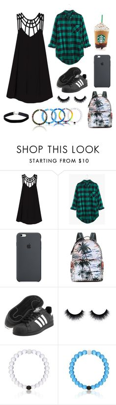 """""""Untitled #164"""" by be-differient ❤ liked on Polyvore featuring RVCA, Madewell, Valentino, adidas Originals, Everest and Miss Selfridge"""