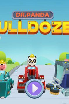 [Test Du Jour] Dr Panda bulldozer. Je me suis bien amusée en le testant ! 7 camions de chantiers à manœuvrer, on construit, on déplace, on casse. Une bonne partie de rigolade pour les enfants dès 5 ans. http://app-enfant.fr/application/deviens-chef-de-chantier-dr-panda-bulldozer/