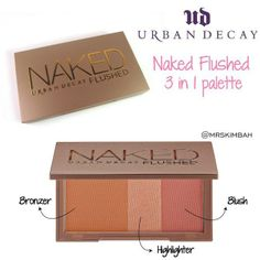 ★Urban Decay★ Naked Flushed (BD21.5) Bronzer, highlighter and blush in a sleek, travel-ready compact. Use these silky pressed powders individually or blend them together to create just the right effect.  Available for immediate purchase and delivery. Place your order on our website www.mrs-kim.com and we deliver in 2-3 days (Bahrain) 3-4 days (GCC). Payment in cash on delivery.  #mrskimbah #Bahrain #Kuwait #UAE #KSA #Qatar #Oman #brands #shopping #photooftheday #onlineshopping #GCC…