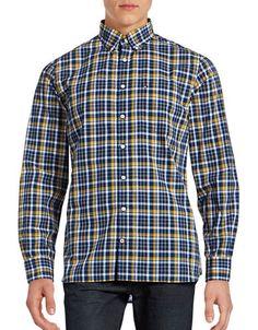 f2dce93f TOMMY HILFIGER Tommy Hilfiger Plaid Poplin Sport Shirt. #tommyhilfiger # cloth # Sports Shirts