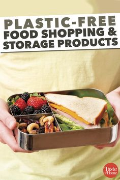 Plastic-Free Food Shopping & Storage Products foods safe to eat Unique Recipes, Great Recipes, Stainless Steel Lunch Containers, Reusable Food Wrap, Glass Food Storage, Food Tags, Wrap Sandwiches, Food Storage Containers, Baby Food Recipes