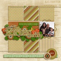Created with Family Gathering by Juno Designs.