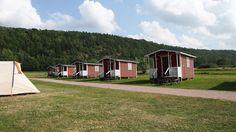 Een overzicht van kleine kindvriendelijke campings in Zweden.