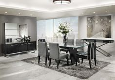 sala de jantar moderna - Pesquisa Google