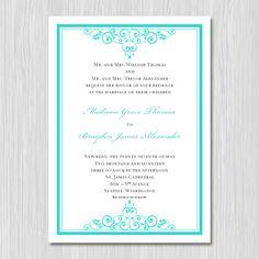 Tiffany And Co Wedding Invitations