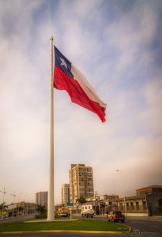 Bandera de Chile, Antofagasta, Chile