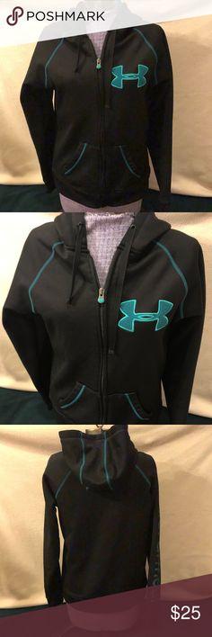 f4eb080f6110 Under Armour UA full zip hoodie medium Under Armour UA full zip hoodie 100%  polyester
