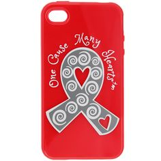 One Cause Many Hearts™ Diabetes Awareness iPhone Cover at The Diabetes Site