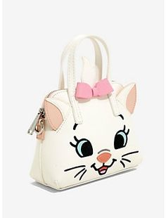 Loungefly Disney The Aristocats Marie Micro Crossbody Bag, Disney Handbags, Disney Purse, Marie Aristocats, Dior Kids, Luxury Baby Clothes, Clutch Bag Pattern, Kawaii Bags, Novelty Bags, Cute Backpacks