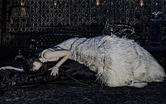 """""""Alexander McQueen just presented its autumn advertising campaign for Fall/Winter 2014.It was produced in London by Steven Klein and starrin..."""