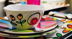 MAD Project - Mendoza Art District - Ideas Flora, Plates, Mugs, Tableware, Kitchen, Projects, Mendoza, Cereal, Ideas