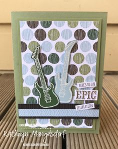 Stampin' Up! Epic Celebrations, Sale-A-Bration created by Kathryn Mangelsdorf