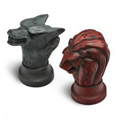 Game of Thrones Stark and Lannister Map Marker Salt and Pepper Shakers