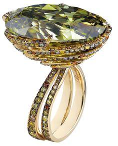 Chopard The world's largest chameleon diamond