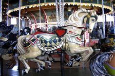 Antique Carousel Horses For Sale - Bing Images Carosel Horse, Fair Rides, Carrousel, Wooden Horse, Painted Pony, Merry Go Round, Old Shows, All The Pretty Horses, Horses For Sale