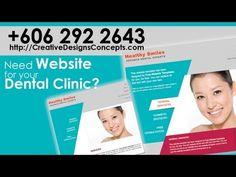 Dental Clinic & Dentist Malaysia Web Design   +60 6 2922643 Creative Web Designs provide Dental Clinics & Dentist website in Melaka, Malaysia Call Us: + 606 2922643 http://CreativeDesignsConcepts.com