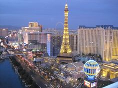View from Cosmopolitan, Vegas