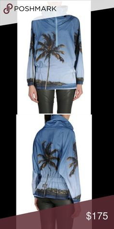 NWT Stella McCartney pullover/windbreaker Brand-new with tags Stella McCartney weekend or palmprint pullover jacket/windbreaker or original price $230 Size small Adidas by Stella McCartney Jackets & Coats
