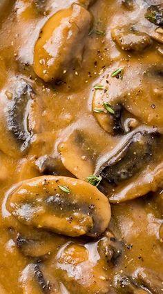 Mushroom Gravy #mushroomgravy