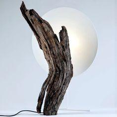Design of wooden furniture Leron Almond Tree Design table Pierre
