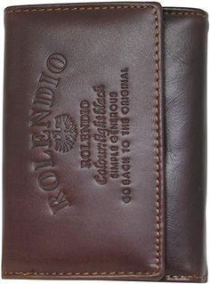 Personalized Fiesta Cinco de Mayo Genuine Leather Mens Bi-fold Wallet