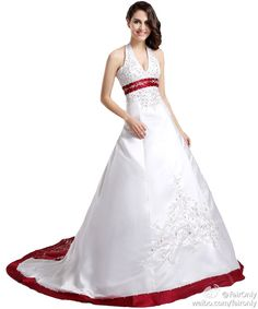FairOnly Hot Chapel Train Bridal Gown Wedding Dress Custom Size 6 8 10 12 14 16+