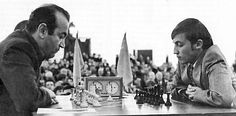 Viktor Korchnoi & Anatoli Karpov