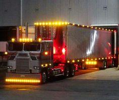 Coe Freightliner custom light show
