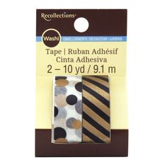 <div>Accent your wedding favor bags, gifts, party invites and other paper crafts with this Washi...