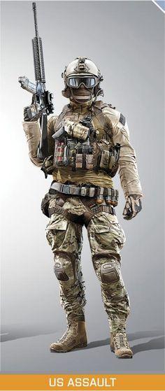BF4 : US Assault