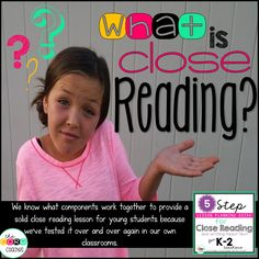 If you are looking for one new idea to try this school year, THIS IS IT!  We are finally ready to reveal our secret formula just for K-2 teachers…. Introducing the 5 Step Lesson Planning Guide for Close Reading & Writing about Text.