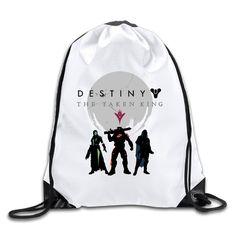 Abbooy Destiny The Taken King Player Drawstring Backpack/Bag -- New and awesome product awaits you, Read it now  : Acessories fitness health