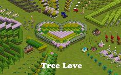 eARTh heART: Tree Love in my Ideal World, Farmville.