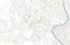 Vatican City street map, 1:10.000