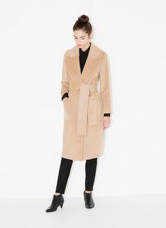 Robe coat - Outerwear - Ready to wear - Uterqüe Greece
