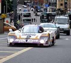 Jaguar Le Mans winner on the road