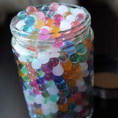 Wasser Perlen 50000 Icy Soft Water Gel Orbeez Crystal Perlen wachsenden Gelee Ba