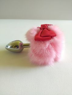 Custom Fluffy Pink Bunny Plug Tail. Gift for her /Gift Ideas / Sex Toy / BDSM / Mature / Sexo Anal / Sex /Bachelorette gift / princess Plug. by FLAOF on Etsy https://www.etsy.com/ca/listing/516911012/custom-fluffy-pink-bunny-plug-tail-gift