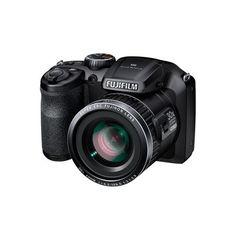 """Le meilleur prix Photo & Vidéo Numérique  » Appareil Photo  » Bridge pas cher de Rueducommerce : FUJI - Bridge FinePix S6800 Noir - CMOS 16MP - Zoom 30x - Ecran 3"""""""
