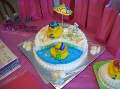 My Mom's Rubber Ducky Cake!